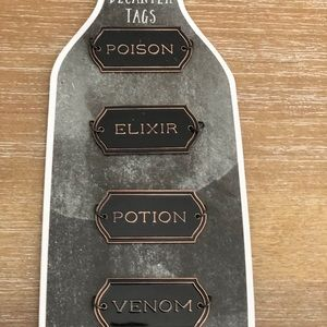 Halloween Decanter Tags Set Of 4